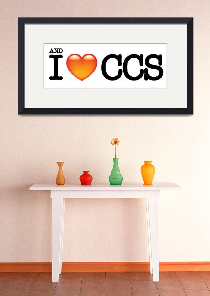 """and i love ccs&quot  (2007) by LuisRaa"