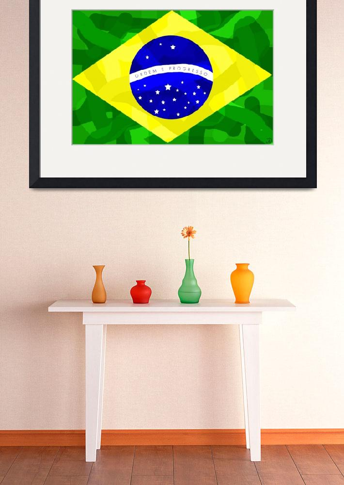 """Brazil Forever&quot  (2010) by ADDesigns"