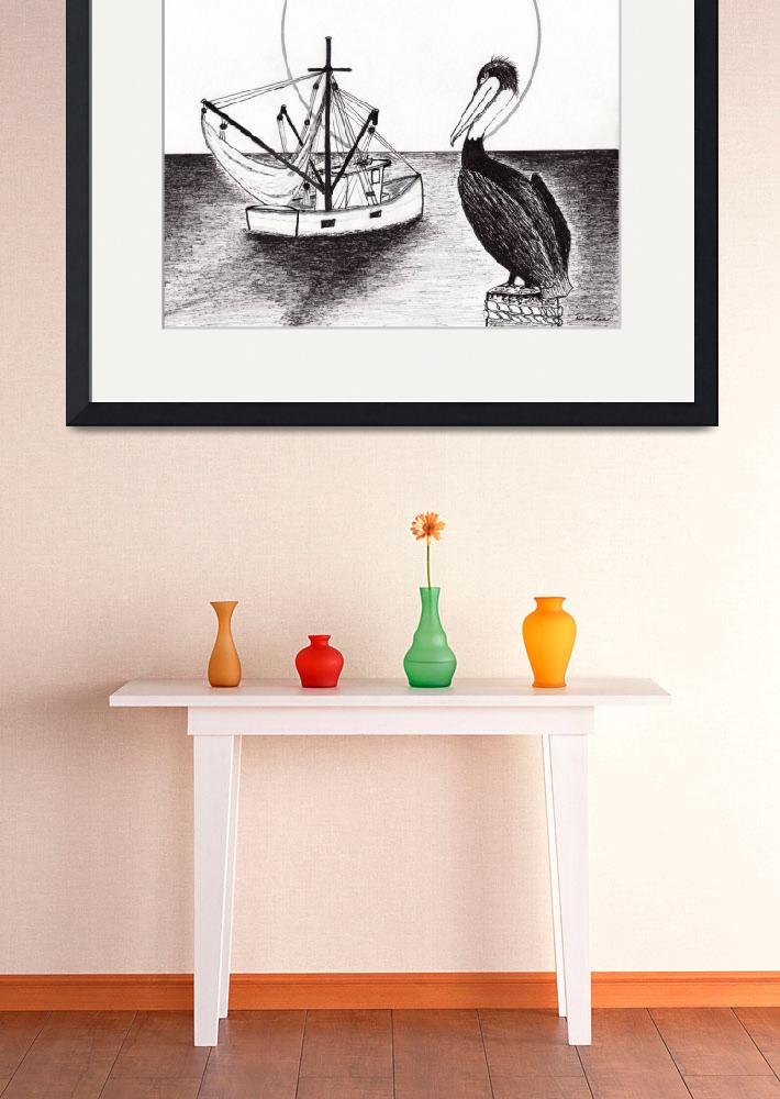 """Pelican Fishing Paradise C1&quot  (2015) by Ricardos"