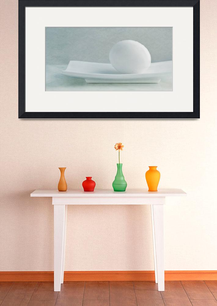 """still life with an egg&quot  by Piri"