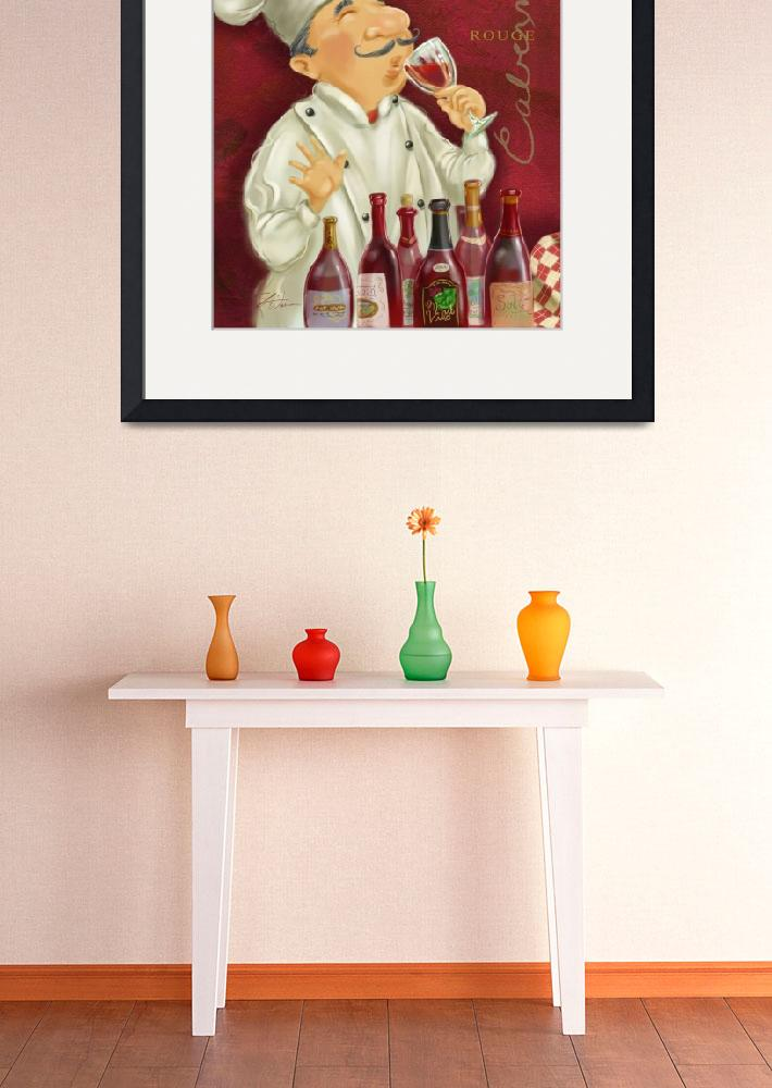 """Wine Chef III&quot  (2005) by shariwarren"