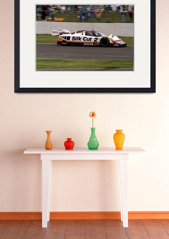 """Johnny Dumfries TWR Silk Cut Jaguar  XJR-9 Group C&quot  by antsphoto"