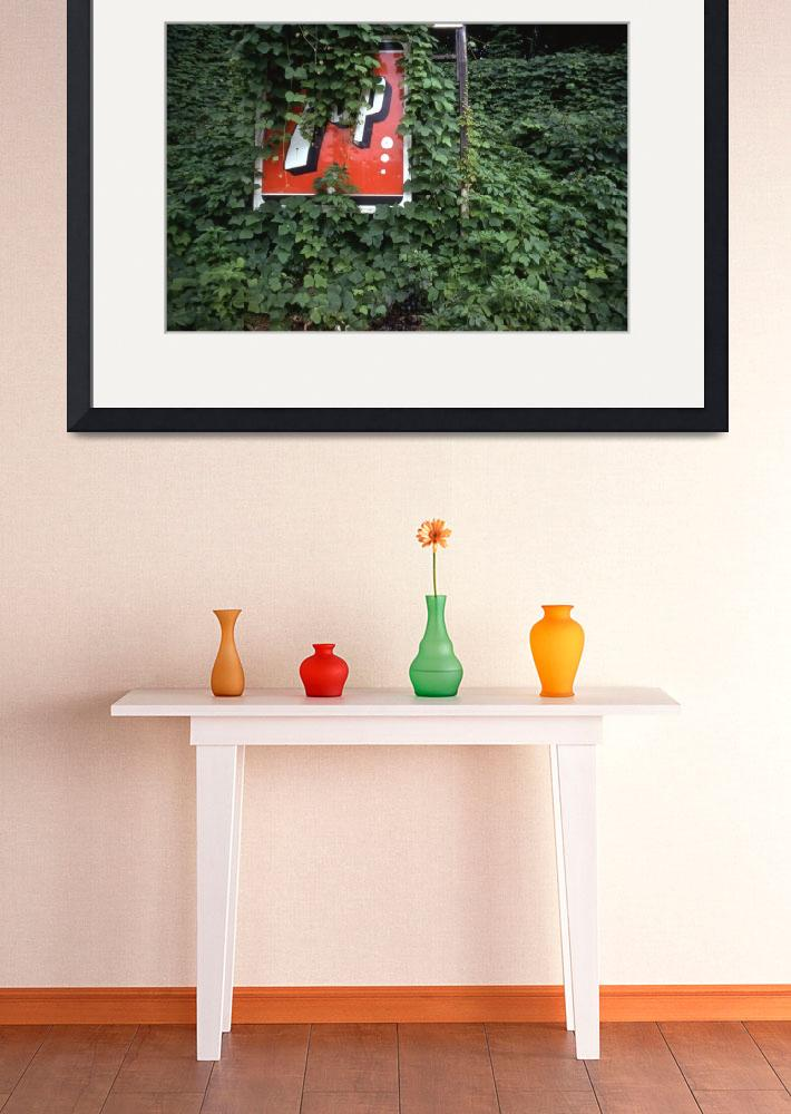 """7UP sign in kudzu&quot  by w3imagery"