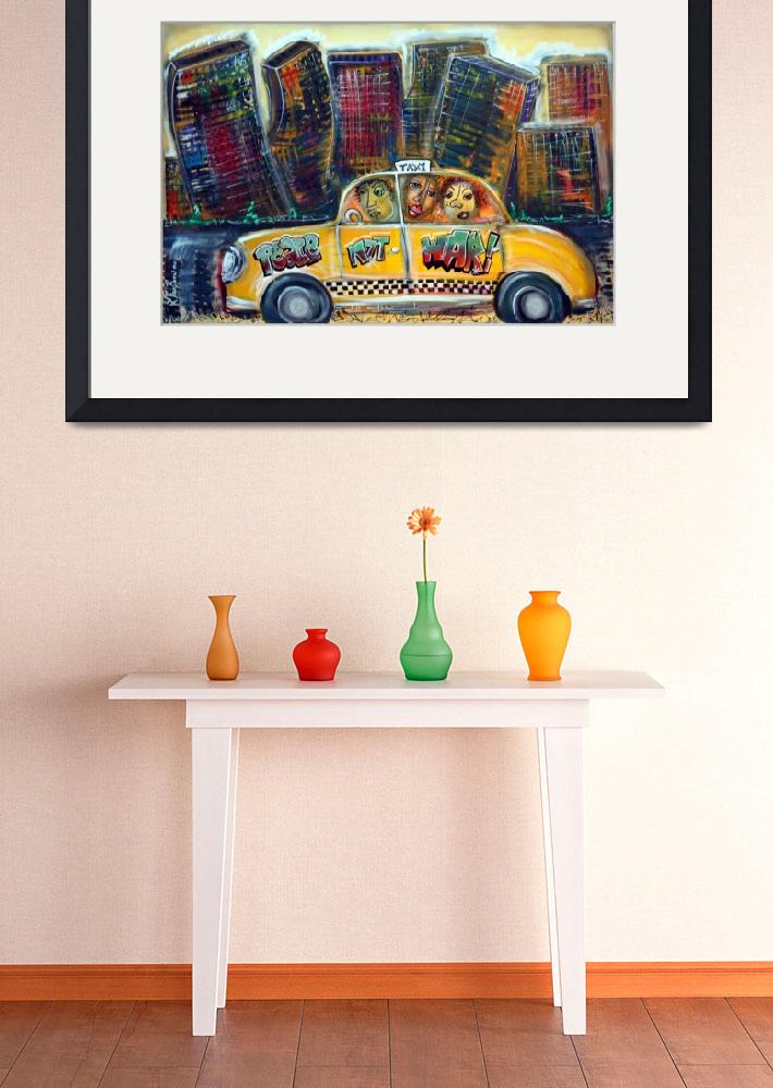 """Taxi&quot  (2008) by ArtPrints"