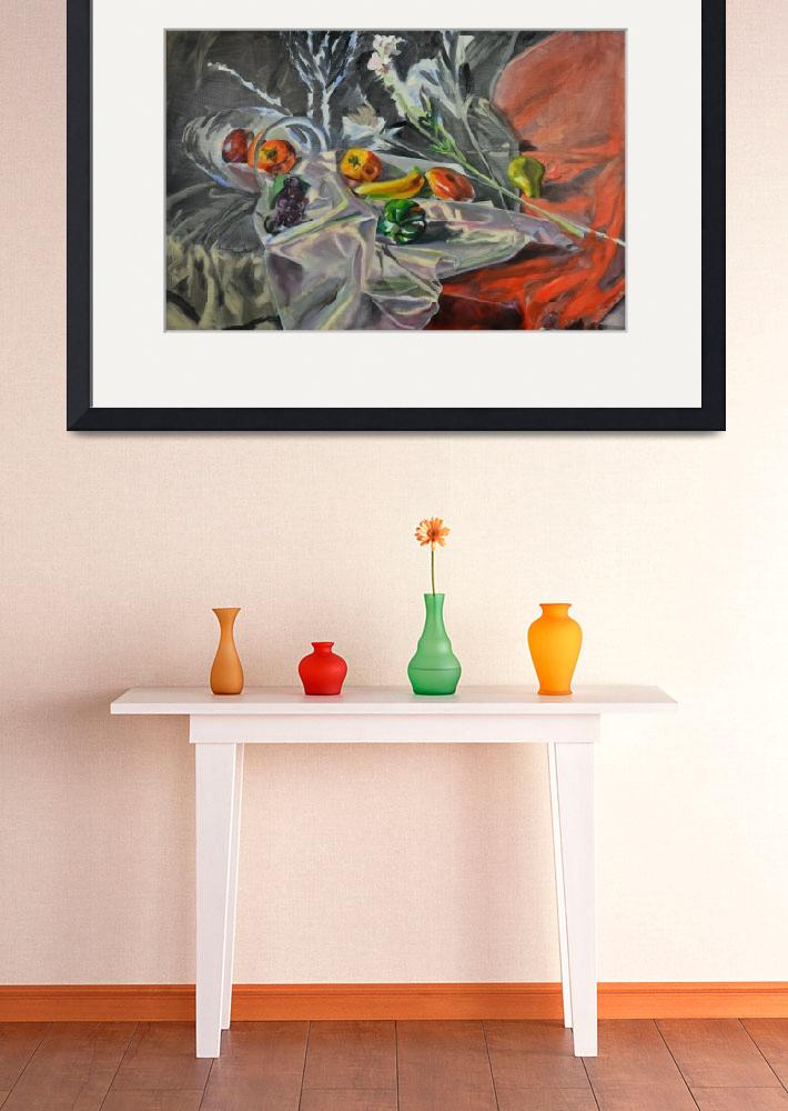 """Still Life with Fruit&quot  (2013) by JYWArtist"