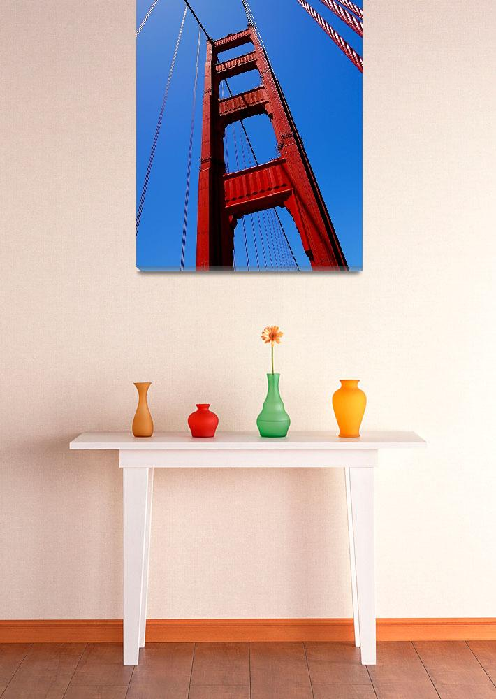 """Golden Gate Tower&quot  (2010) by RonaBlack"
