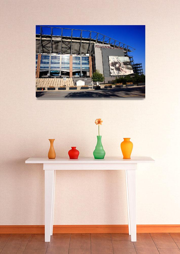 """Philadelphia Eagles - Lincoln Financial Field&quot  (2010) by Ffooter"