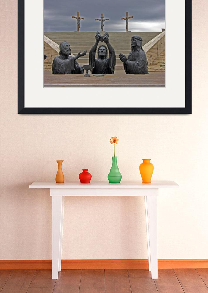 """The Last Supper&quot  (2009) by GalleryPhotoCanvas"