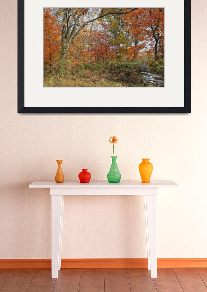 """Autumn Wonderland&quot  (2015) by GlendaBorchelt"