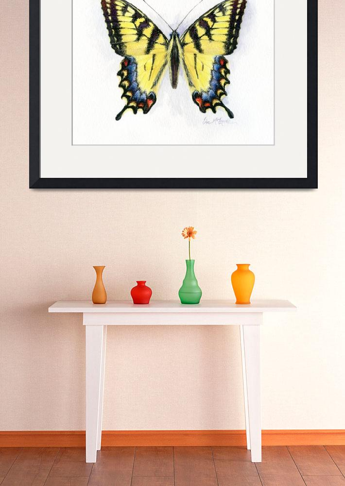 """western tiger swallowtail&quot  (2008) by LisaMclaughlin"