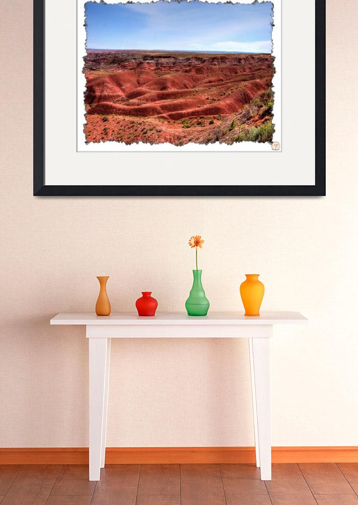 """Painted Desert-Tiponi Point  (A1 7850)&quot  (2008) by BKapsStudioAndGallery"