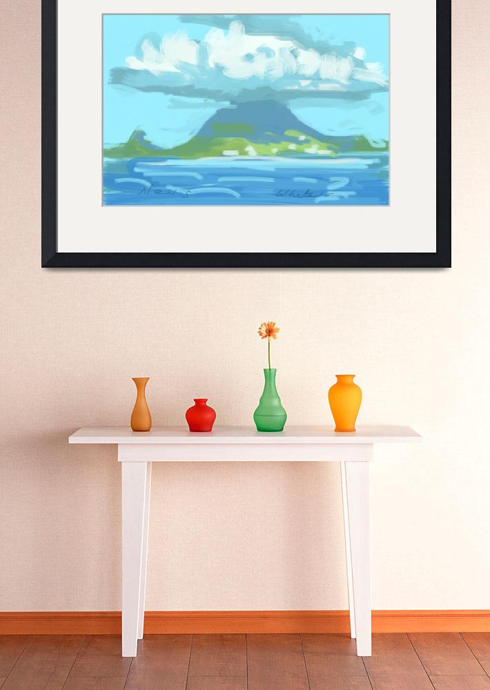 """Island of Nevis&quot  (2015) by rogerwhite"