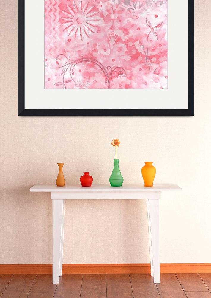 """""Pink Whimsy"" Original Artwork&quot  by meganduncanson"
