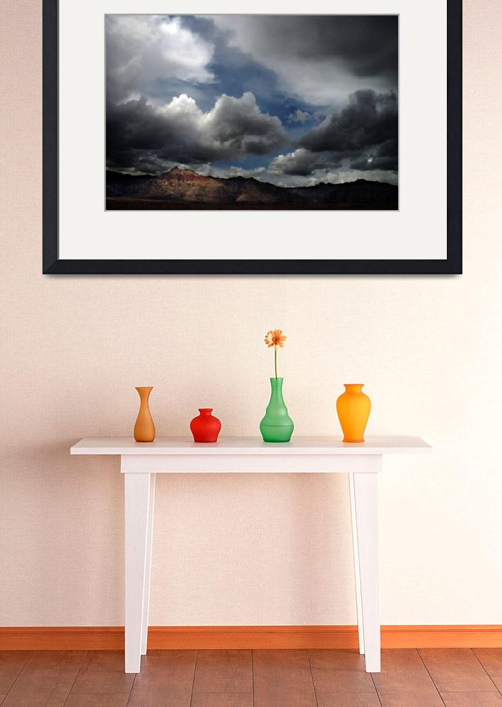"""Bridge Mountain Cloudscape&quot  (2008) by PadgettGallery"