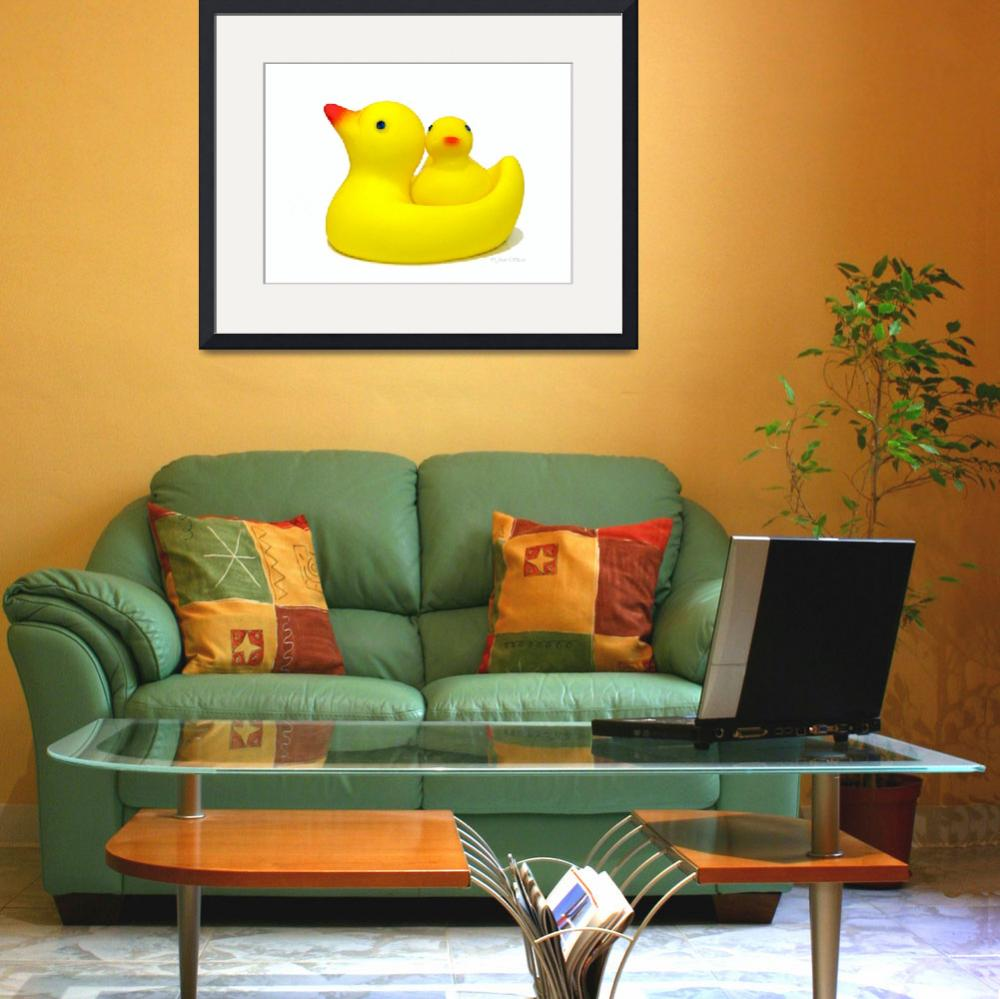 """Just Ducky&quot  (2007) by daisyjoan"