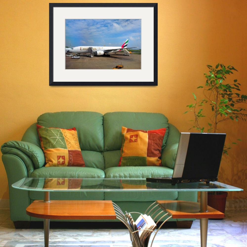 """Emirates B-773, at the Stand&quot  (2008) by JoaoPonces"