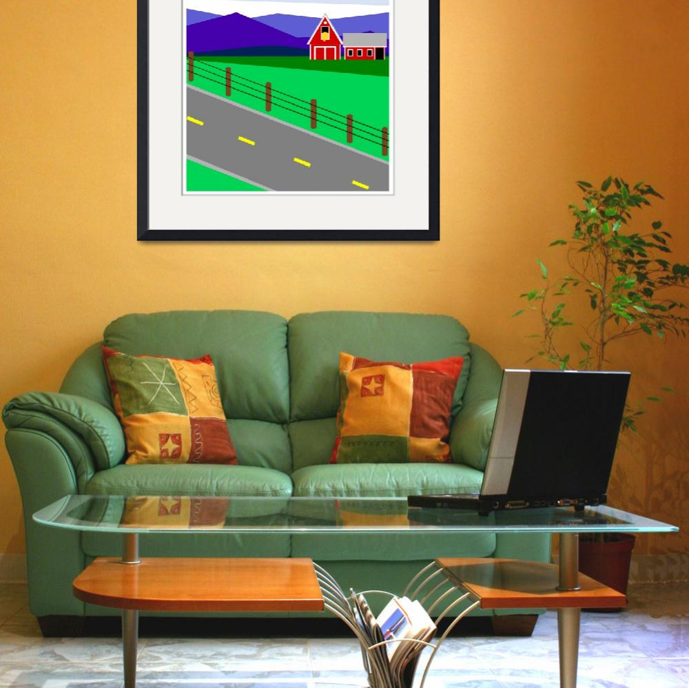 """Passing Lane&quot  (2011) by debband"
