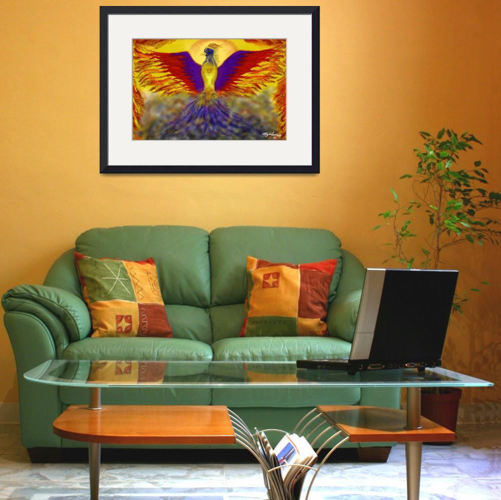 """Phoenix&quot  (2007) by Magdalin"