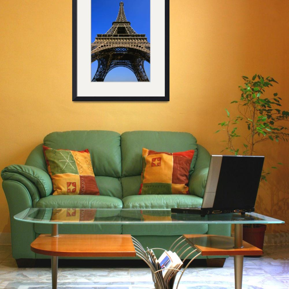 """Low Angle View Of Eiffel Tower&quot  by DesignPics"