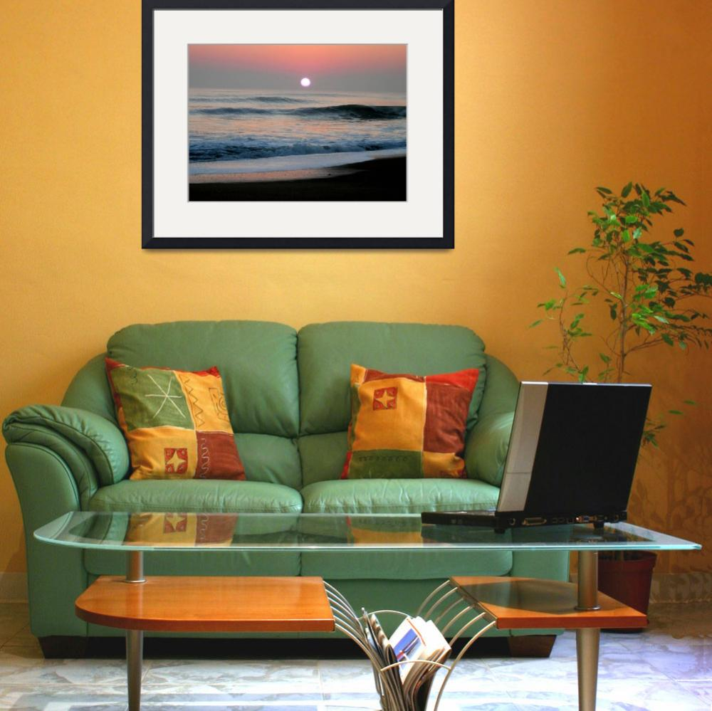 """Southern Shores Sunrise&quot  (2007) by rayjacque"