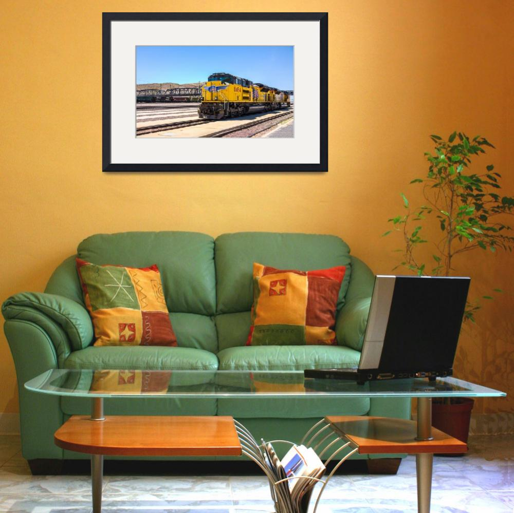 """Union Pacific near Route 66&quot  (2008) by dbwalton"