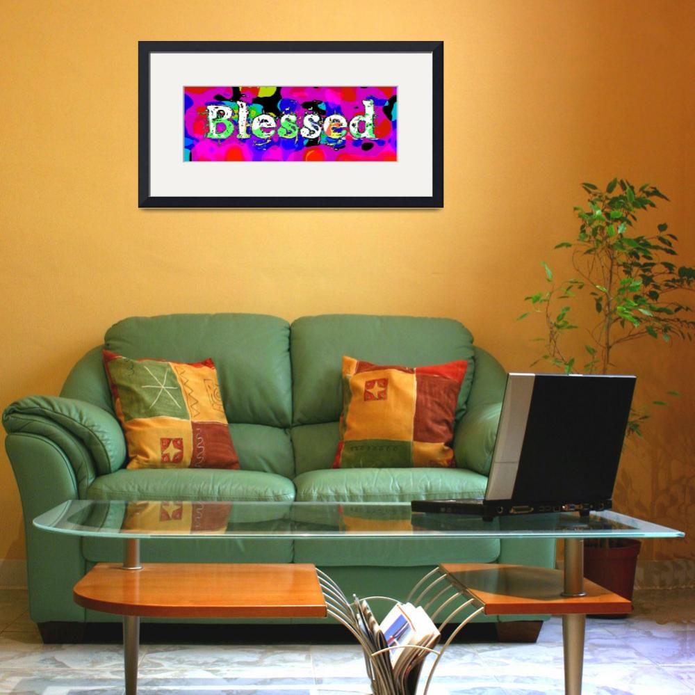 """blessed old print funky&quot  by lizmix"