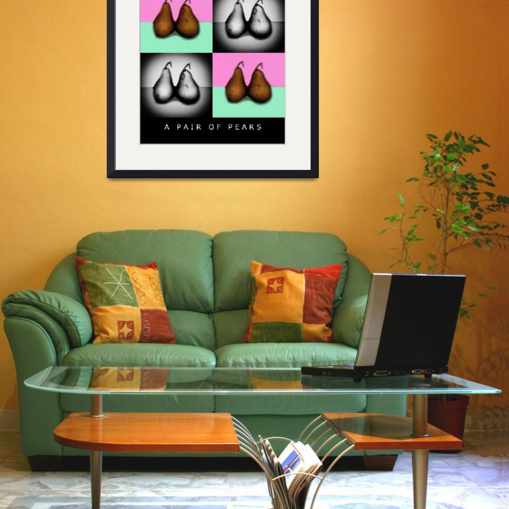 """A PAIR OF PEARS 4X&quot  (2005) by madeline"