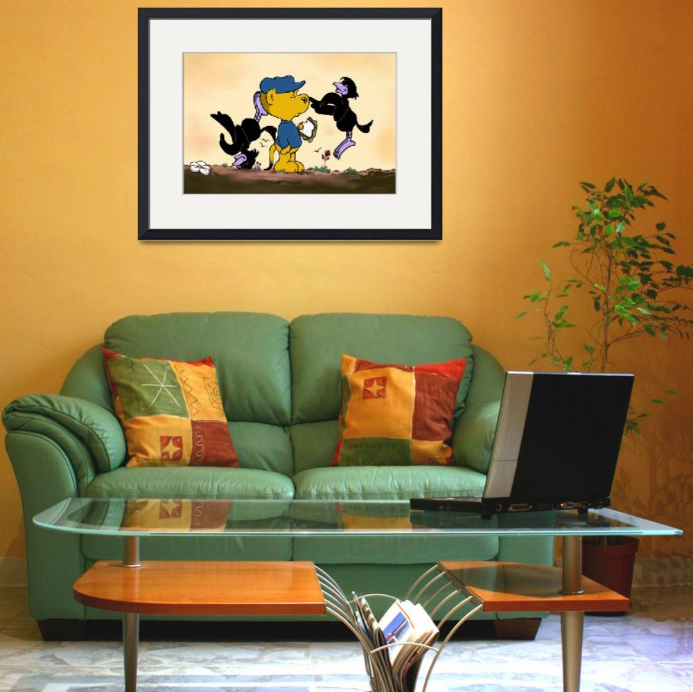 """Ferald and The Pesky Crows&quot  by KeithWilliams"