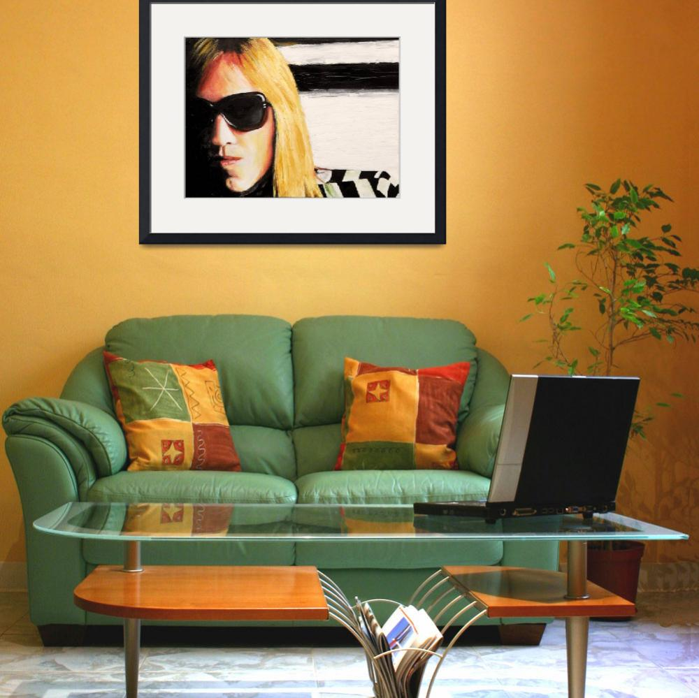 """Tom Petty&quot  by KarenYeeFineArt"