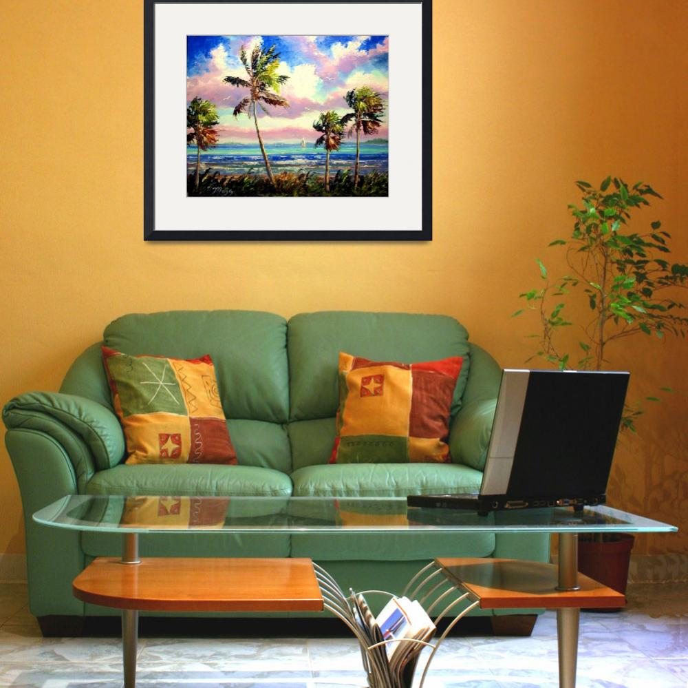 """Vibrant Tropical Wind&quot  (2009) by mazz"