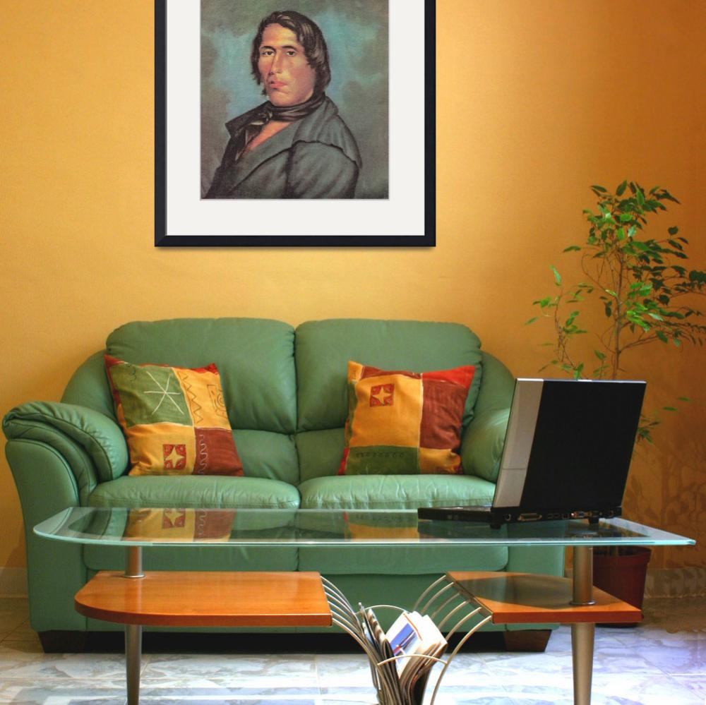 """INDIAN CHIEF TECUMSEH&quot  by homegear"