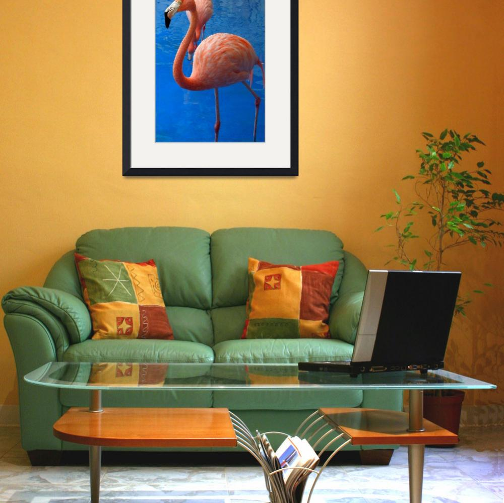 """Flamingo&quot  (2012) by MoonLiteStudio"