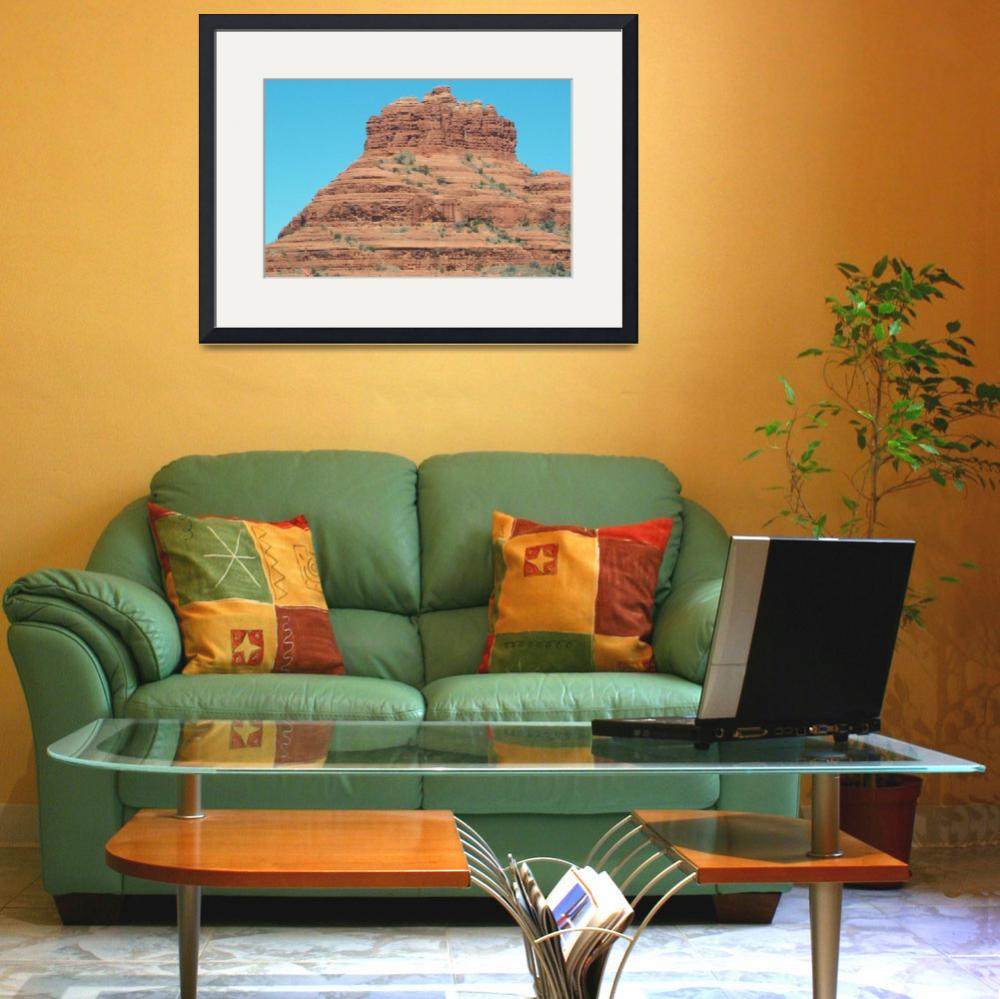 """Bell Rock Sedona&quot  by SOMEWHEREINTIME"