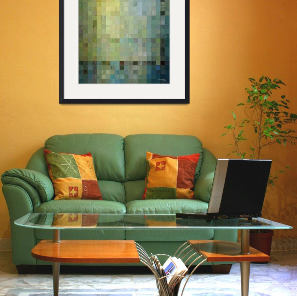 """Tile Art 1, 2012- Modern Decor Collection&quot  (2012) by MarkLawrence"