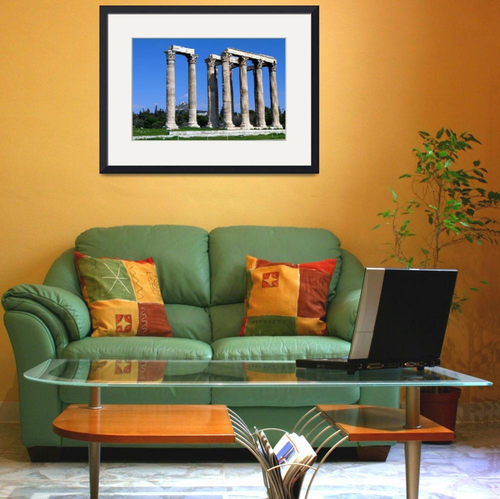 """The temple of Olympian Zeus&quot  (2012) by kos29"