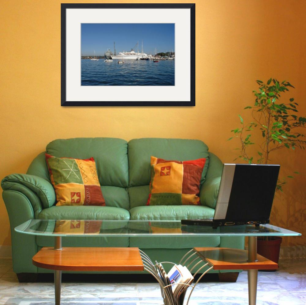 """Falmouth Harbour  (15067-RDA)&quot  (2007) by rodjohnson"