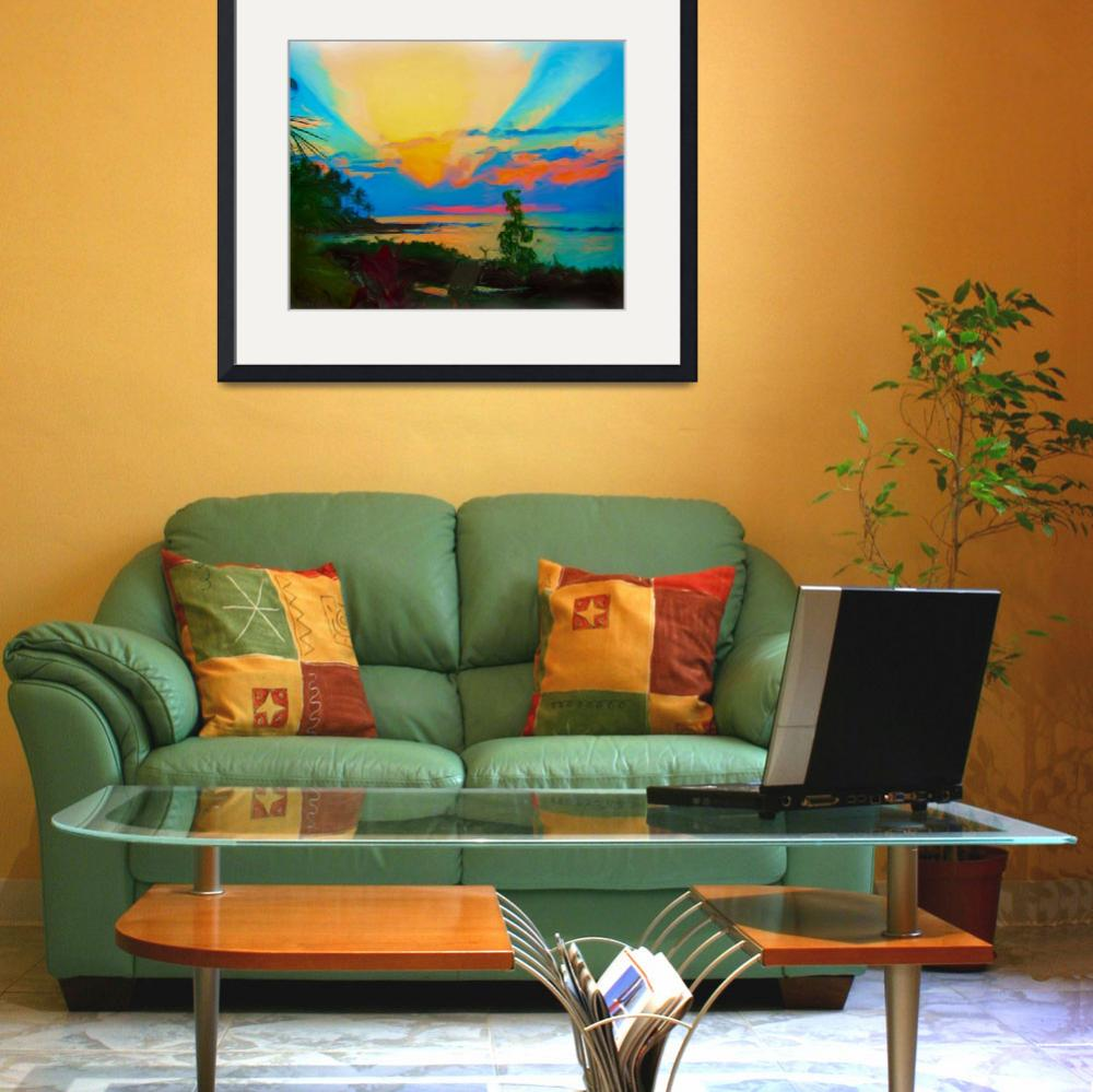 """Sunset in Paradise&quot  (2010) by CarlaG"
