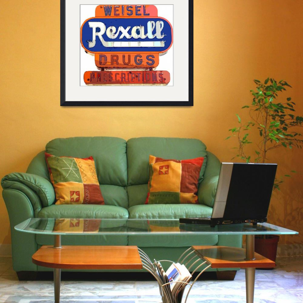 """REXALL DRUG&quot  (2011) by DavidLloydGlover"