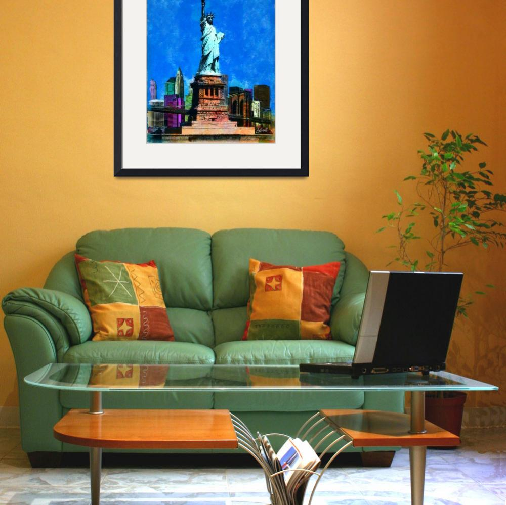"""STATUE OF LIBERTY USA&quot  (2010) by Zaboni"
