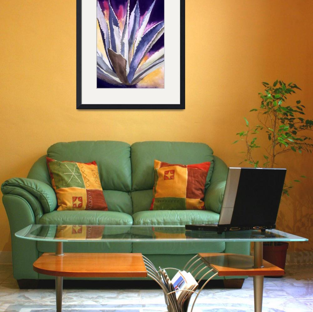 """Agave 5&quot  (2008) by art4fish"