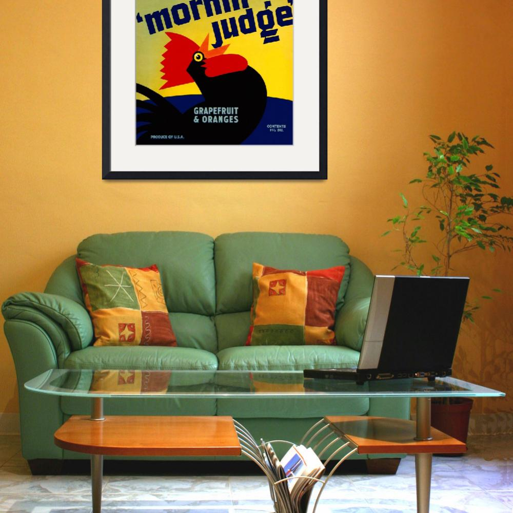 """Morning Judge&quot  (2010) by dalidayna"