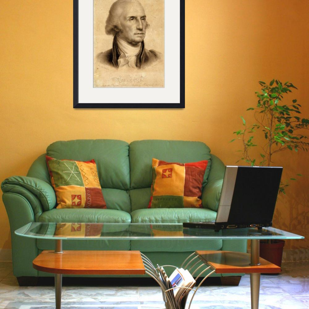 """GEORGE WASHINGTON&quot  by homegear"