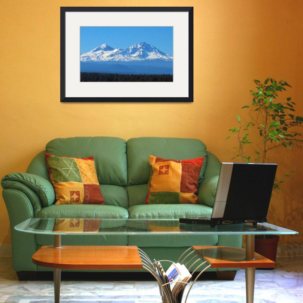 """Sisters Mountains - Oregon&quot  (2008) by netbrands"