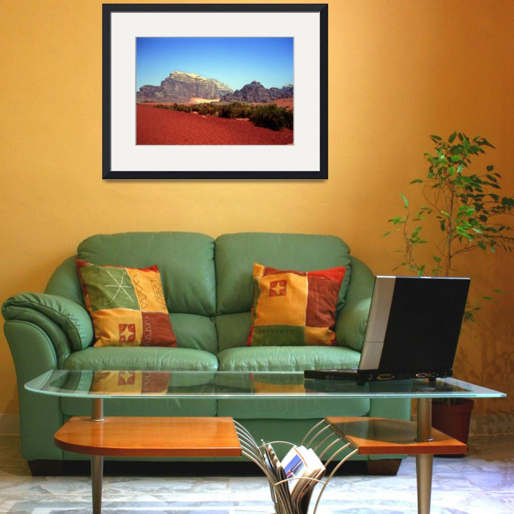 """Wadi Rum Red Sands&quot  (2007) by JoaoPonces"