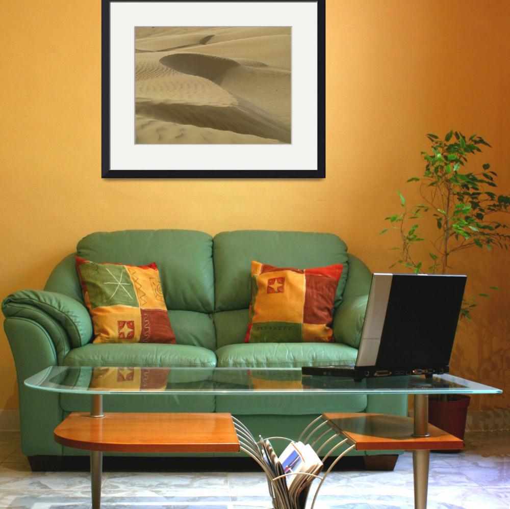 """Sonmiani Dunes 6671&quot  (2009) by davies"