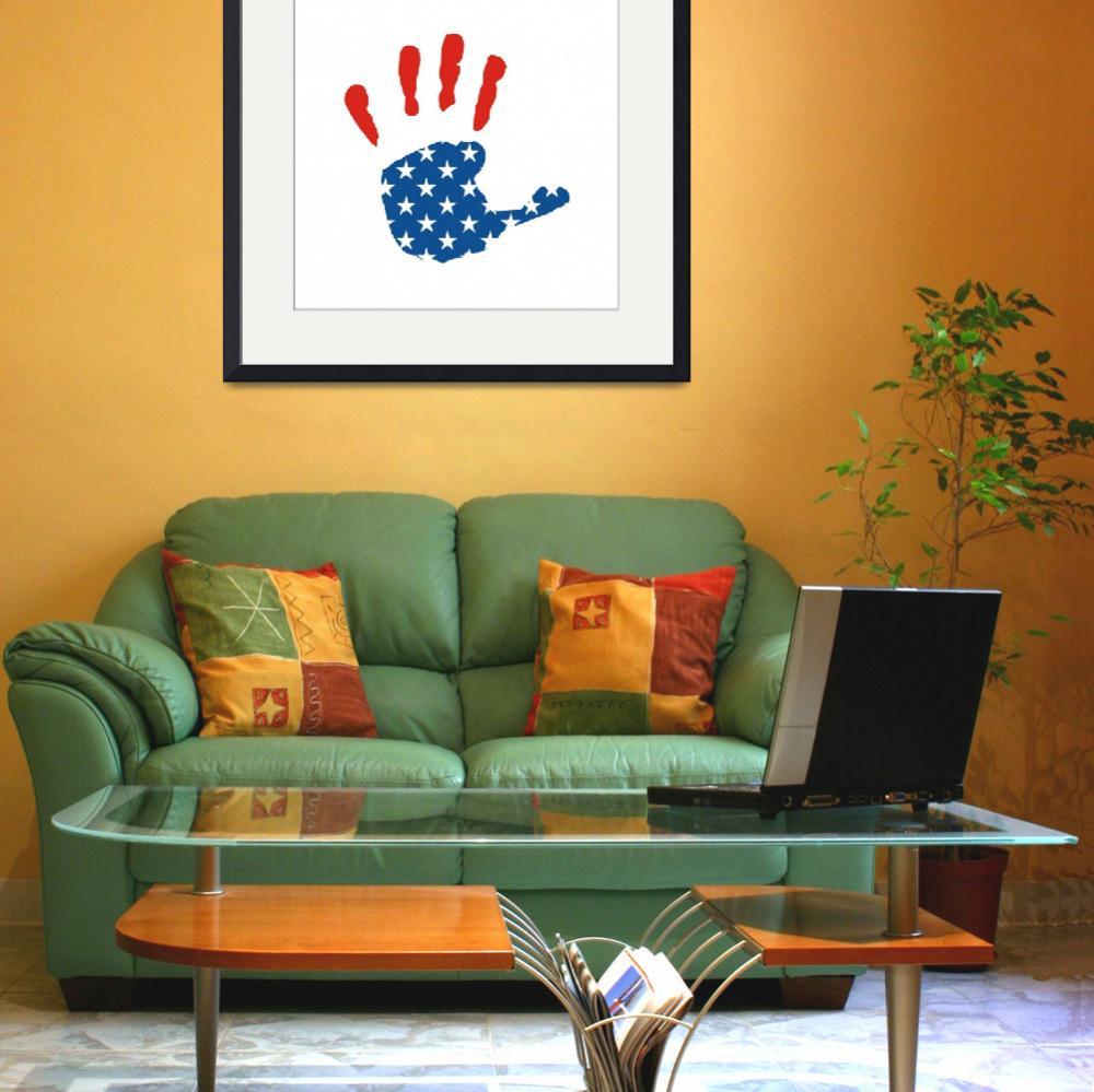 """USA HAND - Copy&quot  by tony4urban"