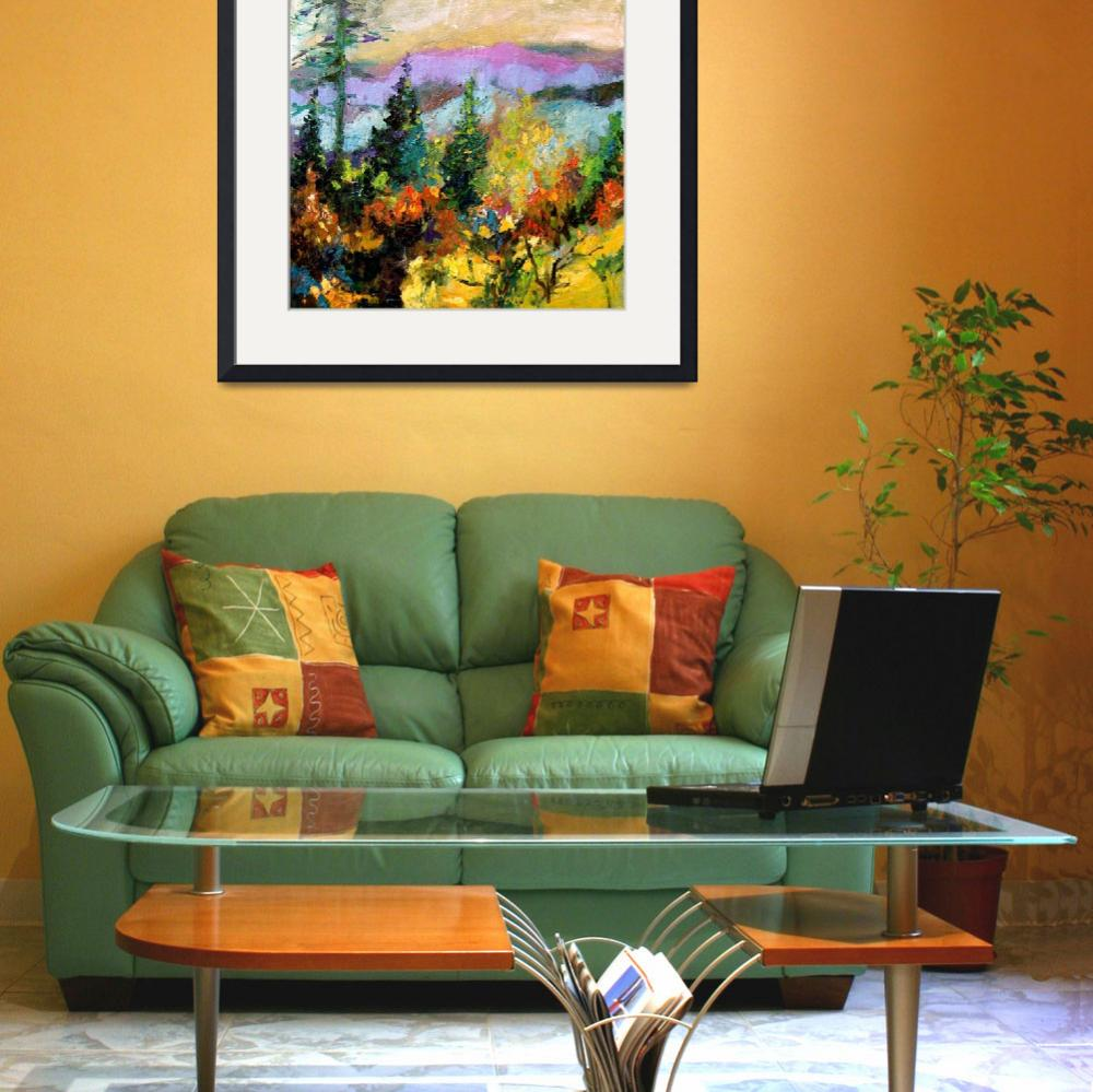 """Georgia Autumn Oil Painting by Ginette Callaway&quot  (2005) by GinetteCallaway"