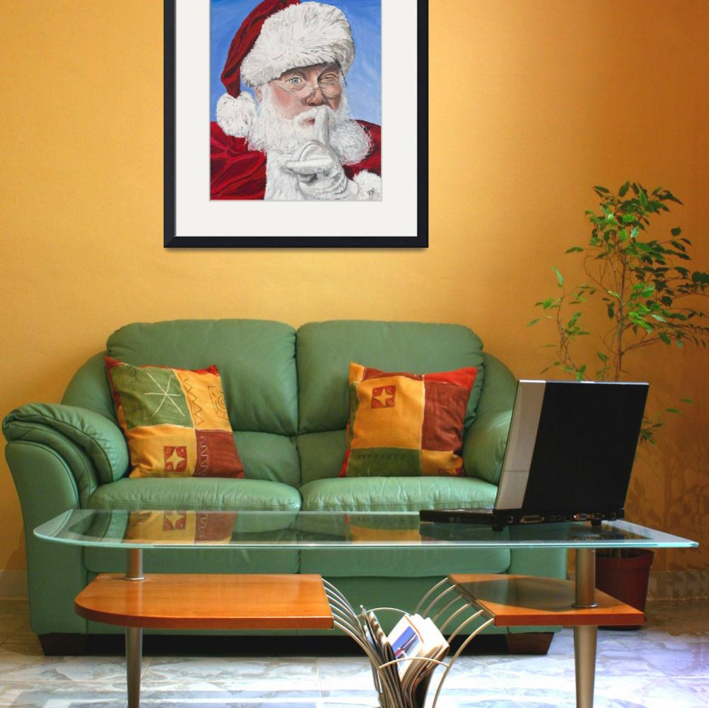 """Santa Claus&quot  (2009) by psovart"