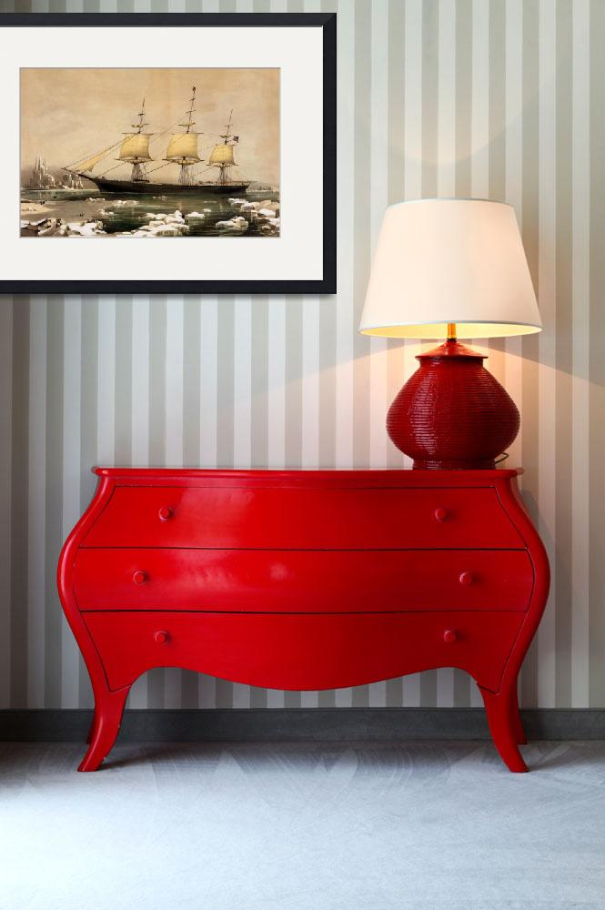 """CLIPPER SHIP RED JACKET&quot  by homegear"
