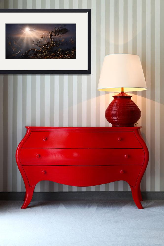 """Chasm Of Grandeur&quot  (1990) by John-foster"